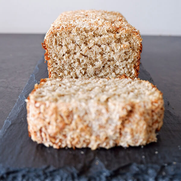 Kokos: heel brood (8 plakken)